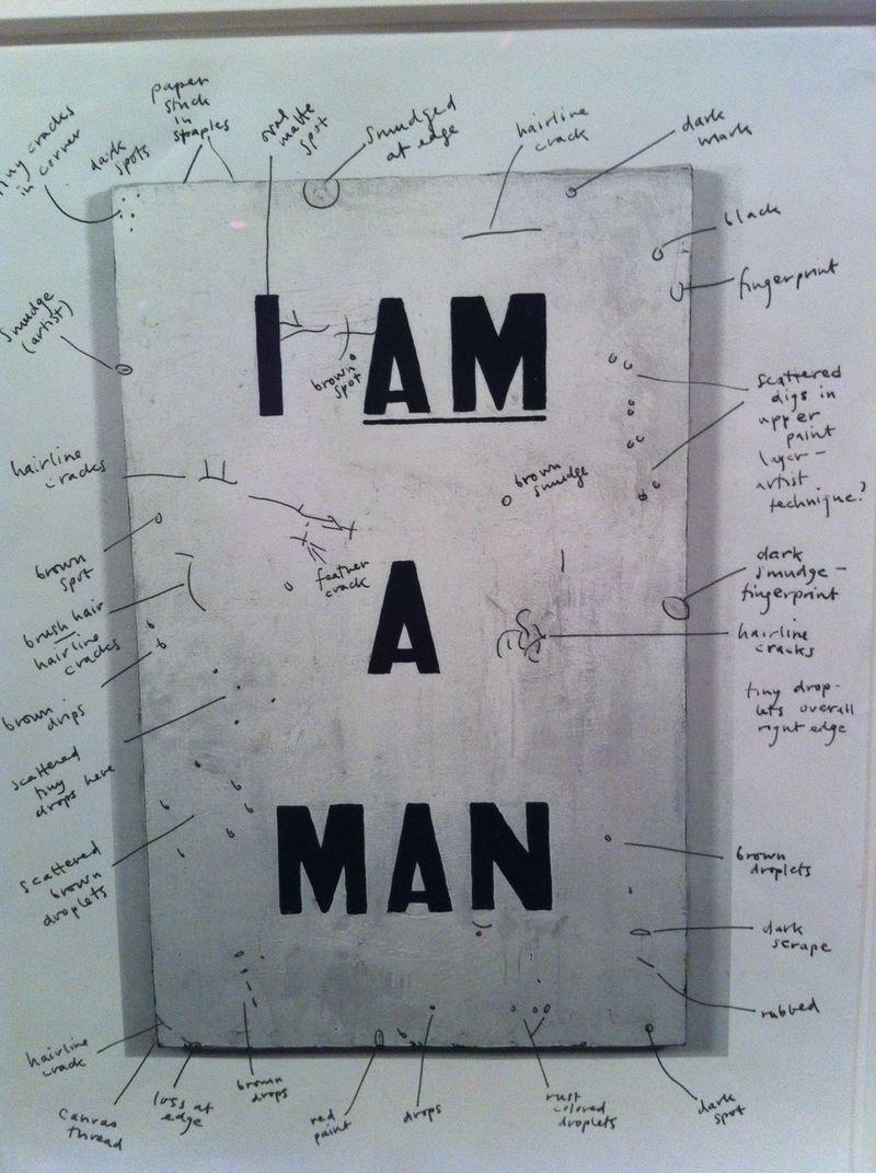 Ligon I Am a Man extra