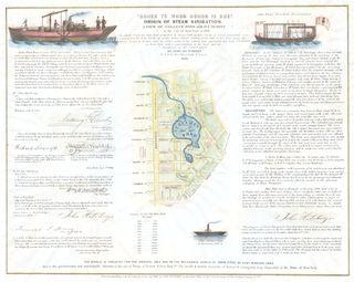 Collect Pond broadside 1846
