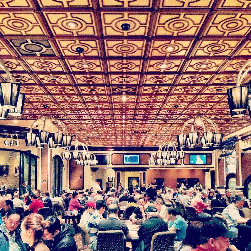 Vegas poker room