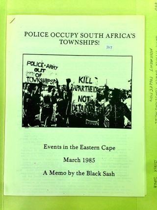 Police Occupy South Africa's Townships